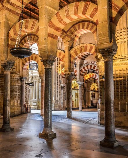 Building with arches in Andalucia