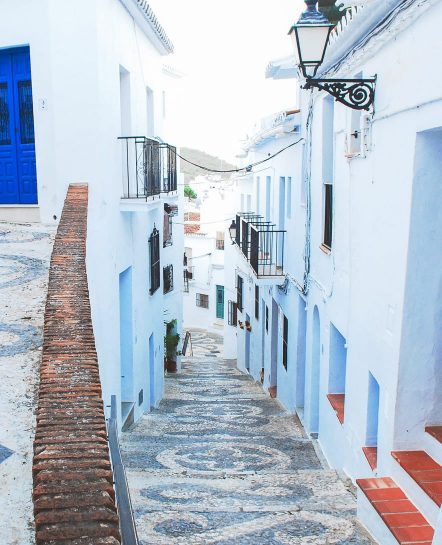 Street in Frigiliana, Spain