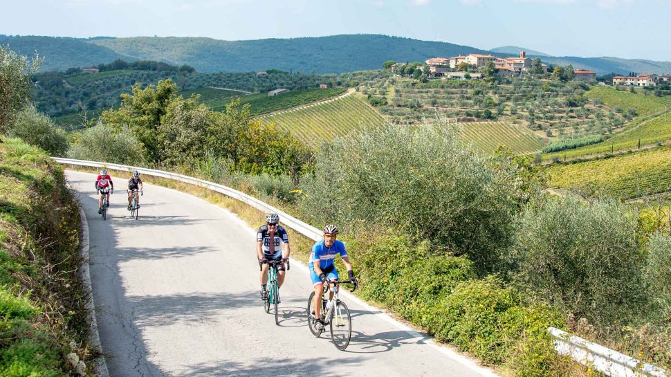 Biking on the Heart of Tuscany tour