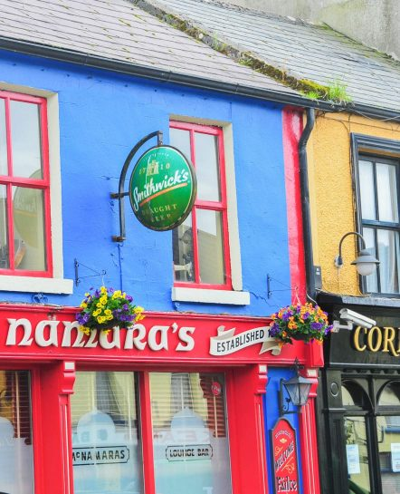 Colorful Irish bars