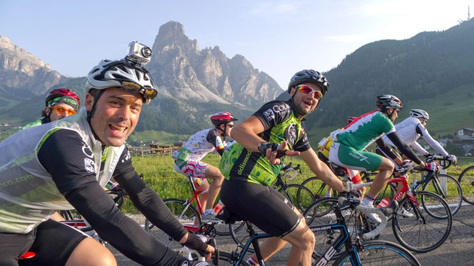 Biking in the Majestic Dolomites