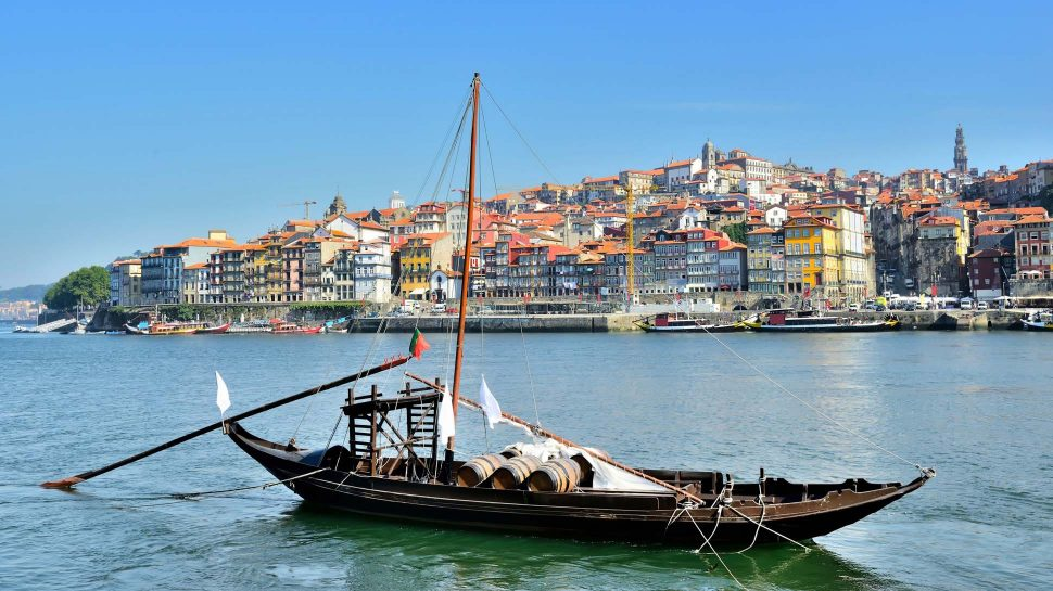Boat in Northern Portugal