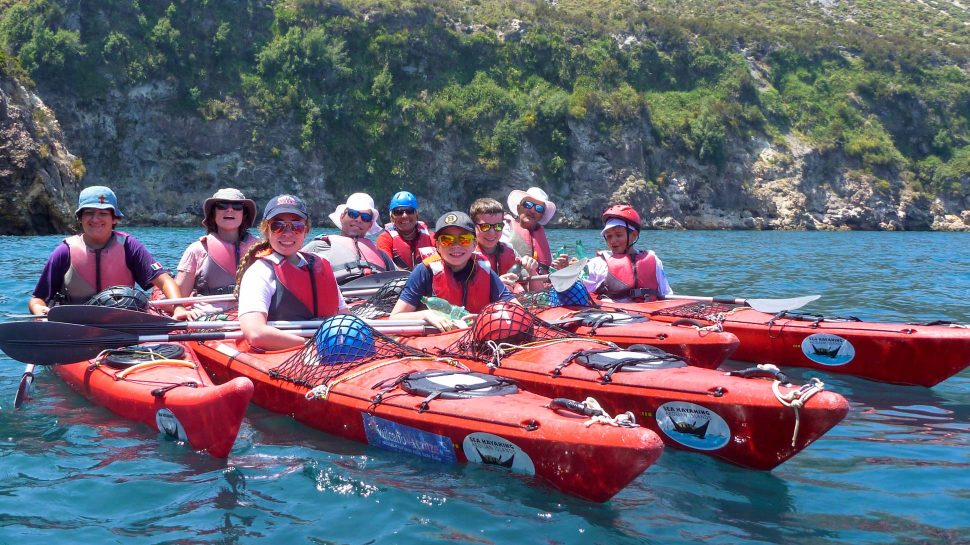 Kayaking adventures in Sicily