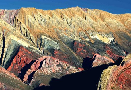 Multi-colored mountains of Argentina