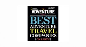 National Geographic Best Adventure Travel Companies 2009 logo