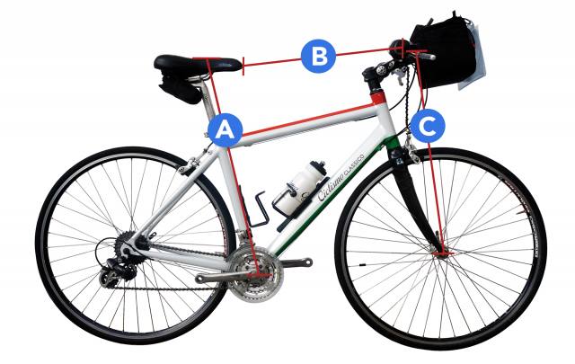 Bike measurement diagram