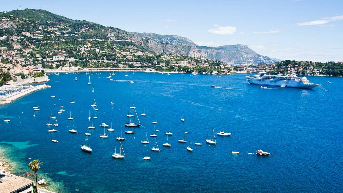 French Riviera coast