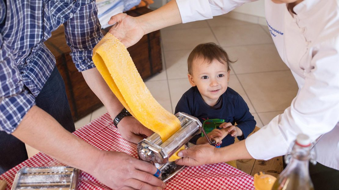 Learning how to make pasta