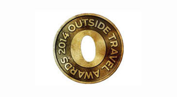 2014 Outside Travel Award