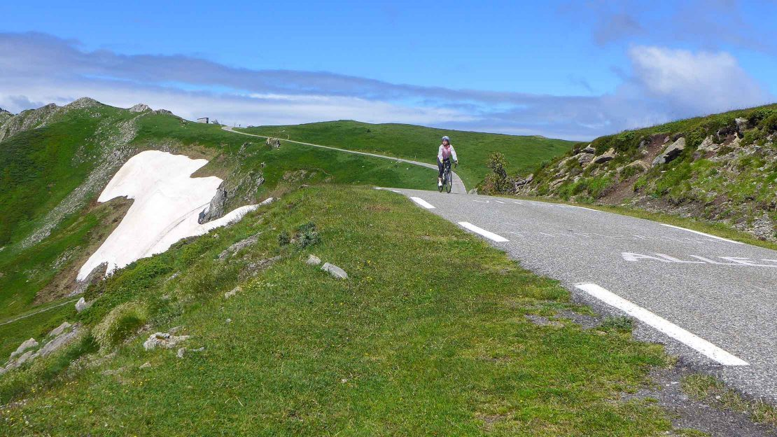 Biking on the Pyrenees Sea to Sea tour