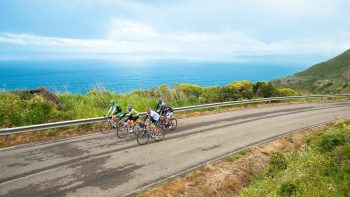 Biking on the Savor Sardinia tour