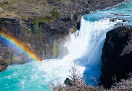 Waterfall in Patagonia