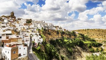 Arcos de la Frontera, beautiful town located in the Sierra de Gr